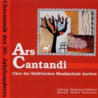 Ars Cantandi: Chormusik des 20. Jahrhunderts
